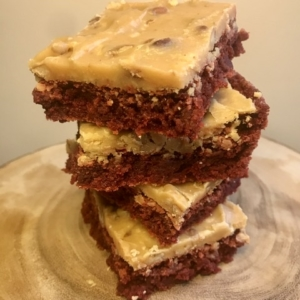 Praline Red Velvet Brownie