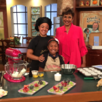 KD's NOLA Treats featured on WWL morning show interviewed by Sallie Ann Roberts