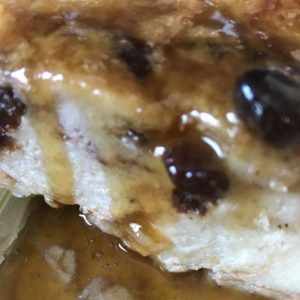 Buttered Rum Bread Pudding