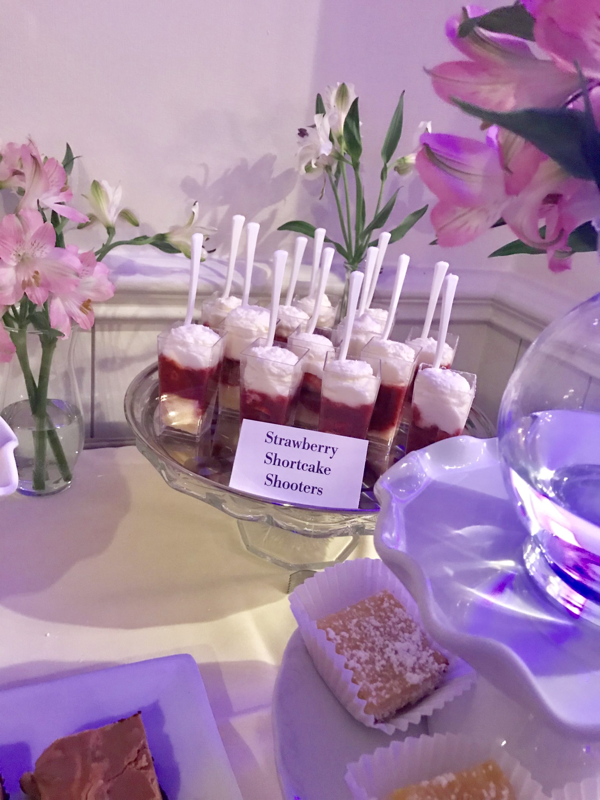 Strawberry Shortcake Dessert Shooters