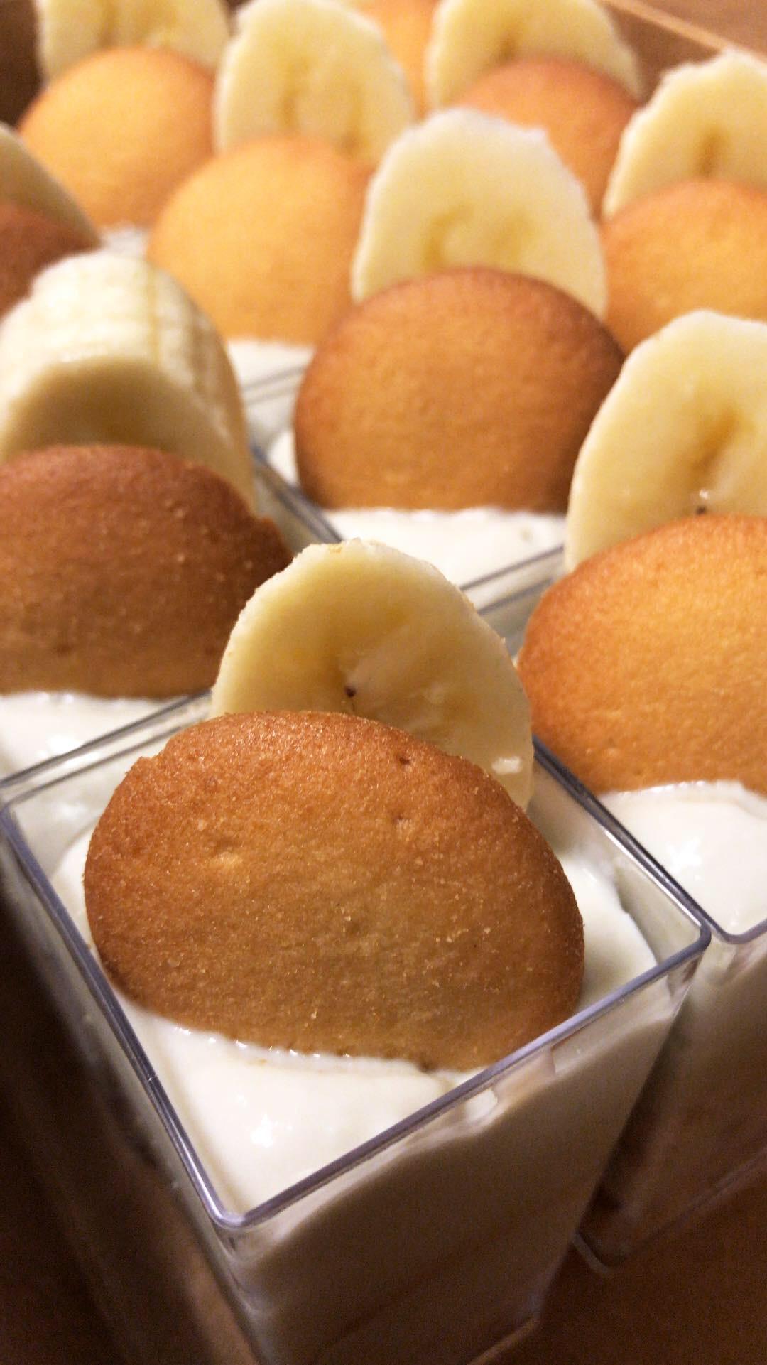 Banana Pudding Dessert Shooters