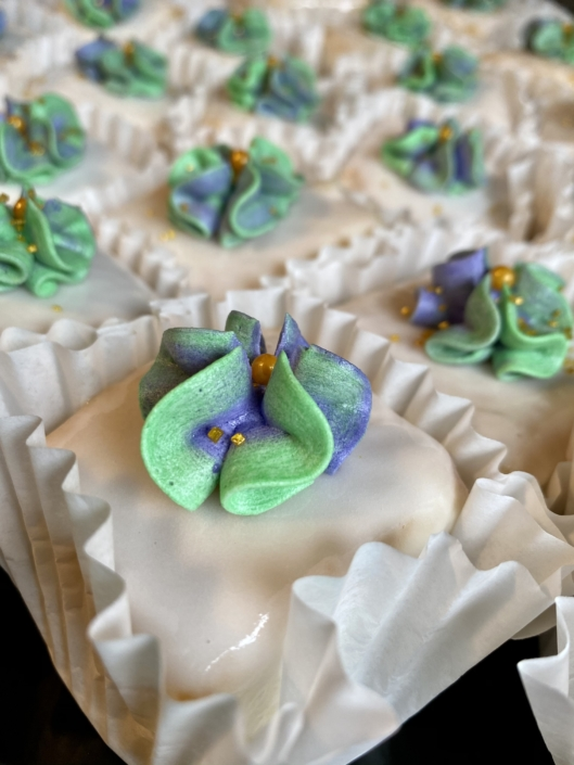 New Orleans Caterer Breakfast Brunch Pastries Delivery Petit Fours