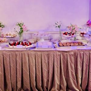 New Orleans Destination Weddings Dessert Caterer Mini Dessert Bar