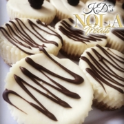 New Orleans Dessert catering and delivery Mini cheesecakes with Chocolate Ganache New Orleans Dessert Caterer
