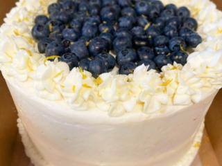 Homemade buttercream cakes