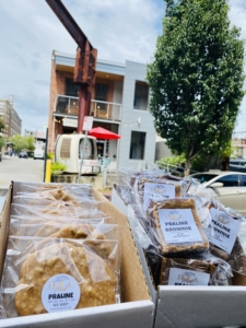 KD's NOLA Treats at Nesbit's Poeyfarre Market, Downtown New Orleans