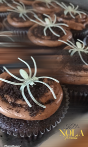 Spider Halloween Cupcakes - NOLA