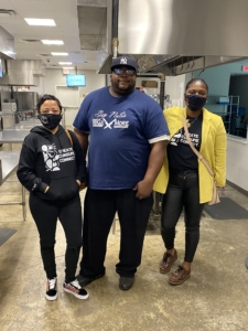 Kim Dejan, Big Nate, and Sinnidra Taylor