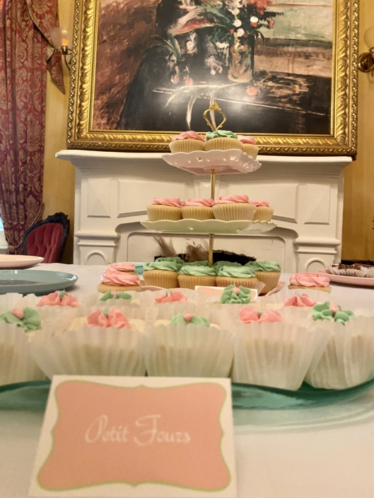 New Orleans Wedding Dessert Table