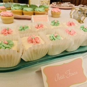 New Orleans Mini Desserts