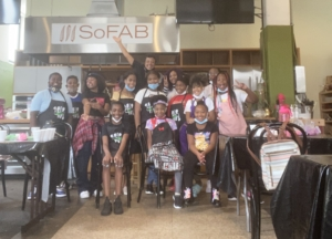Baking with a purpose at southern food and beverage museum new orleans kids baking class