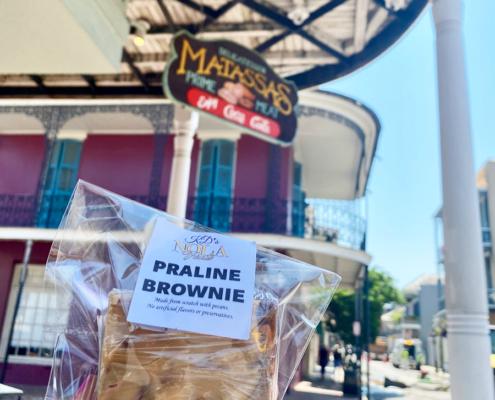KD's Praline Brownie at Matassa's Market