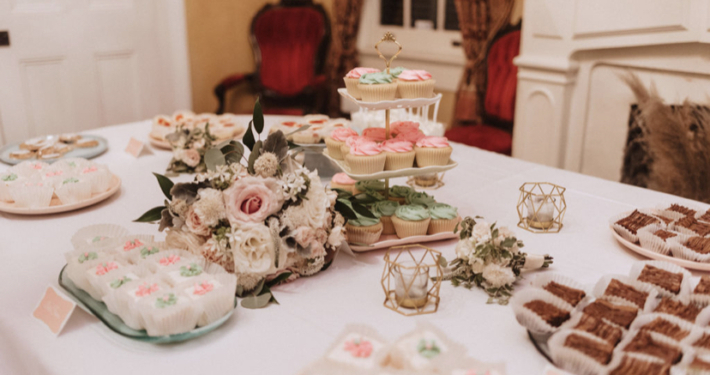 New Orleans Wedding Dessert Table NOLA Catering Planning Venue Degas House